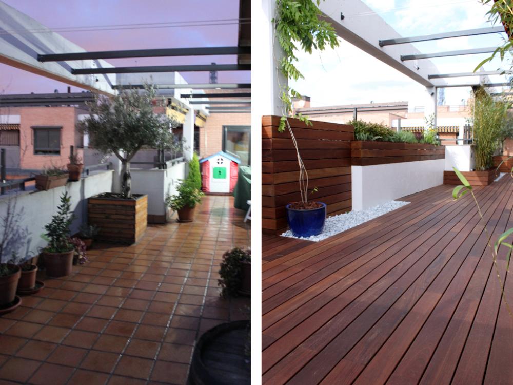 Remodelación Terraza